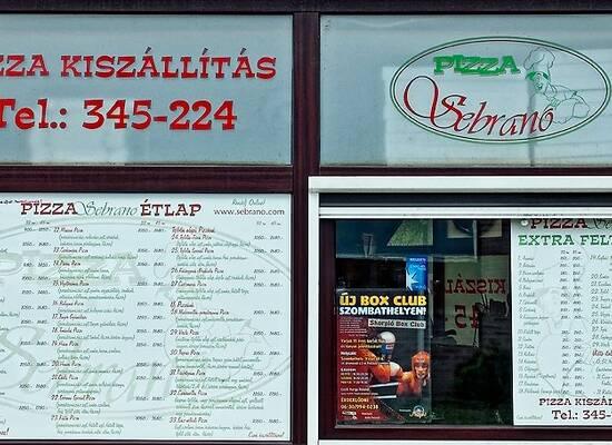 Pizza Sebrano