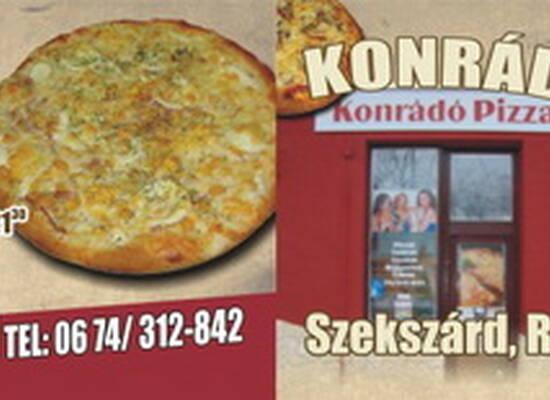Konrádó Pizza